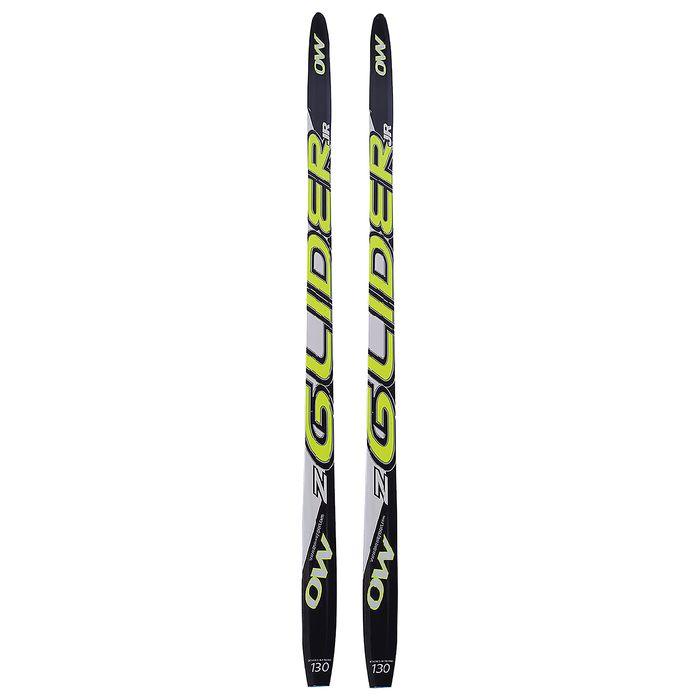Лыжи пластиковые БРЕНД ЦСТ step 130 см, цвет