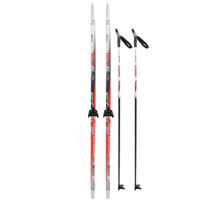 Комплект лыжный БРЕНД ЦСТ Step, 190/150 (+/-5 см), крепление 0075мм