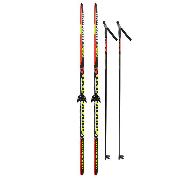 Комплект лыжный БРЕНД ЦСТ Step, 185/145 (+/-5 см), крепление 0075мм