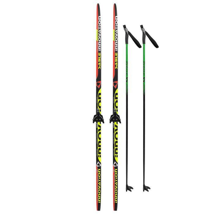 Комплект лыжный БРЕНД ЦСТ Step, 180/140 (+/-5 см), крепление 0075мм