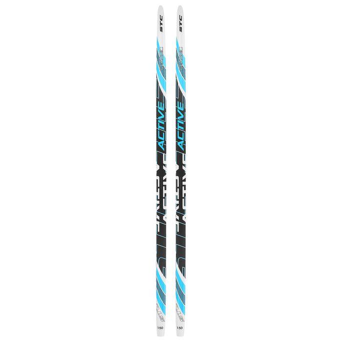 Лыжи пластиковые БРЕНД ЦСТ 150см, цвет