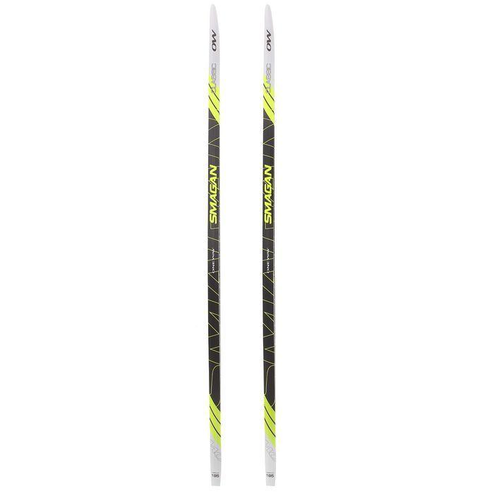 Лыжи пластиковые БРЕНД ЦСТ (185см)