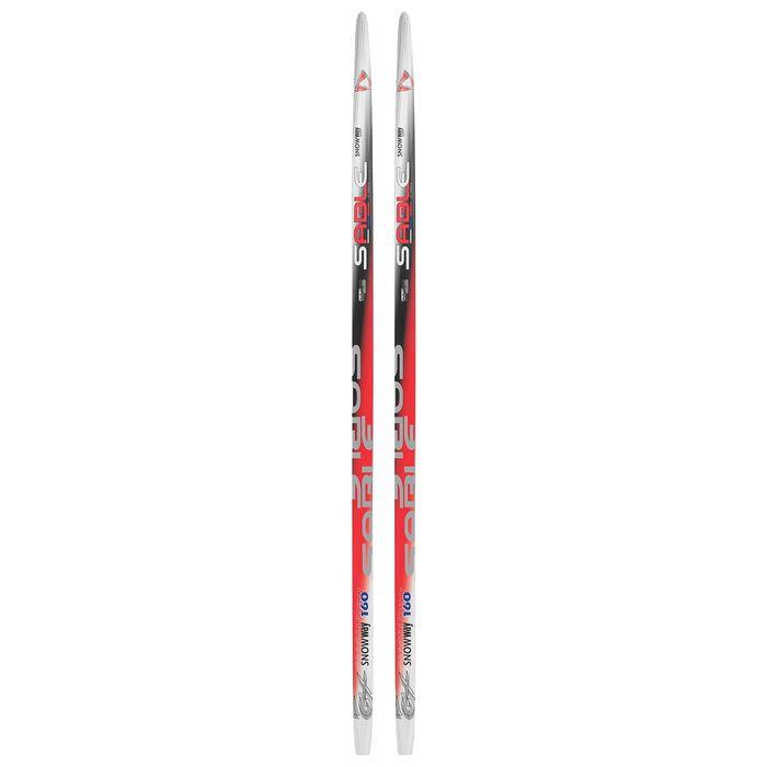 Лыжи пластиковые БРЕНД ЦСТ 160см, цвет