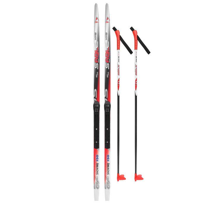 Комплект лыжный БРЕНД ЦСТ (150/110 (+/-5 см), крепление: NNN цвета