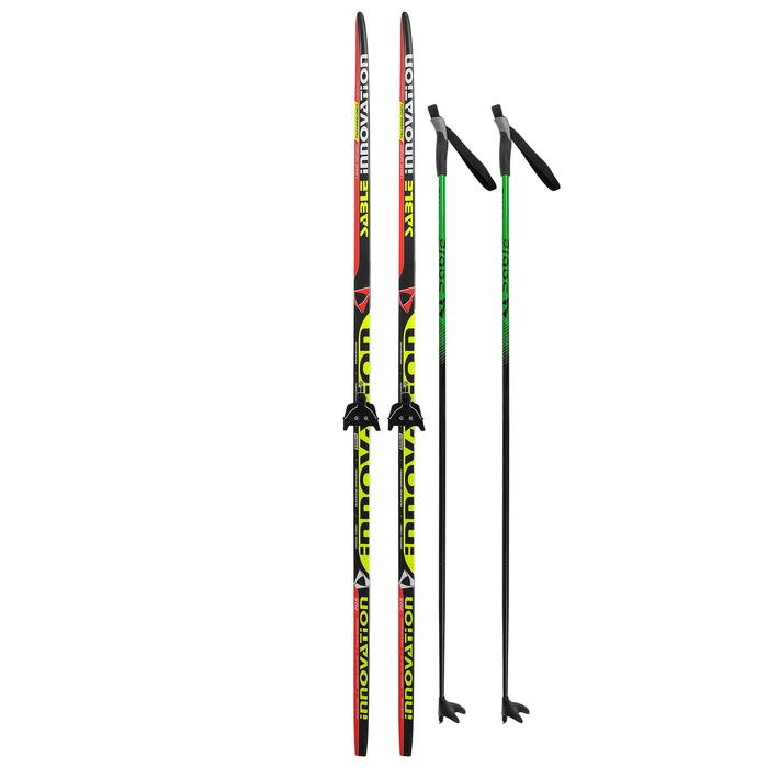 Комплект лыжный БРЕНД ЦСТ Step, 205/165 (+/-5 см), крепление 0075мм