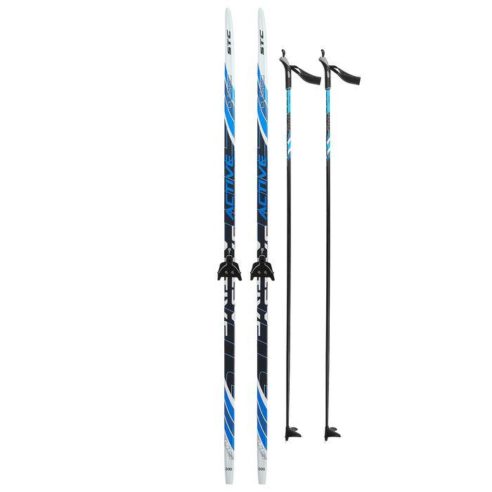 Комплект лыжный БРЕНД ЦСТ Step, 200/160 (+/-5 см), крепление 0075мм