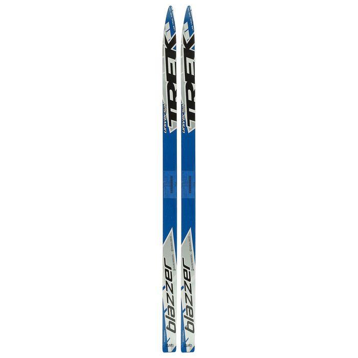 Лыжи деревянные 130 см, цвет