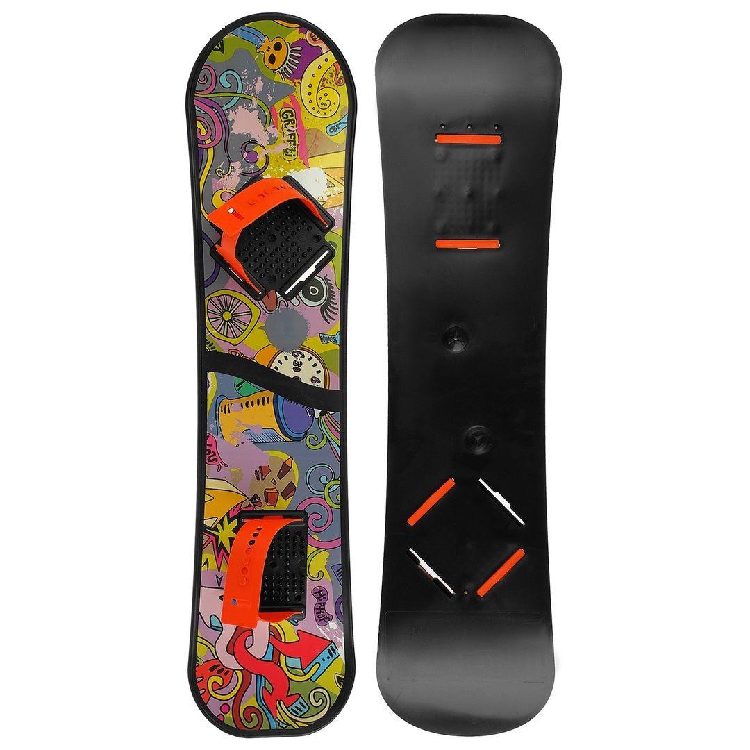 Детский сноуборд с облегченными креплениями №2