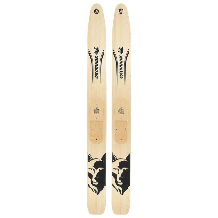 Лыжи охотничьи дерево-пластиковые «Охотник» 165 см