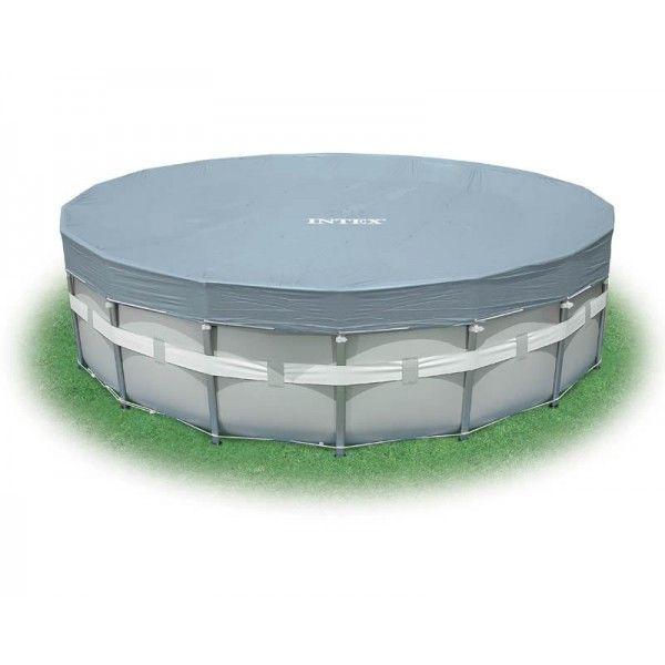 Тент Deluxe для каркасного бассейна 488 см, h20 см