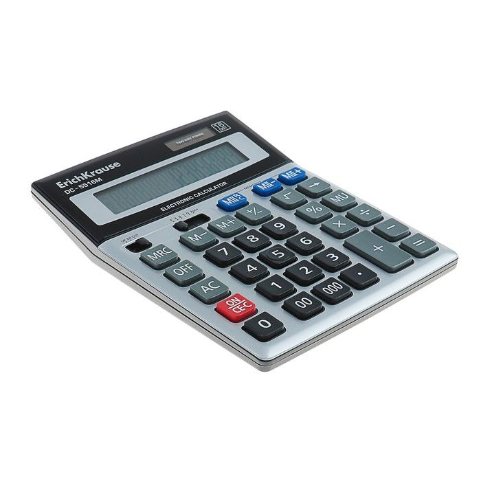 Калькулятор настольный 16-разрядный Erich Krause DC-5516M