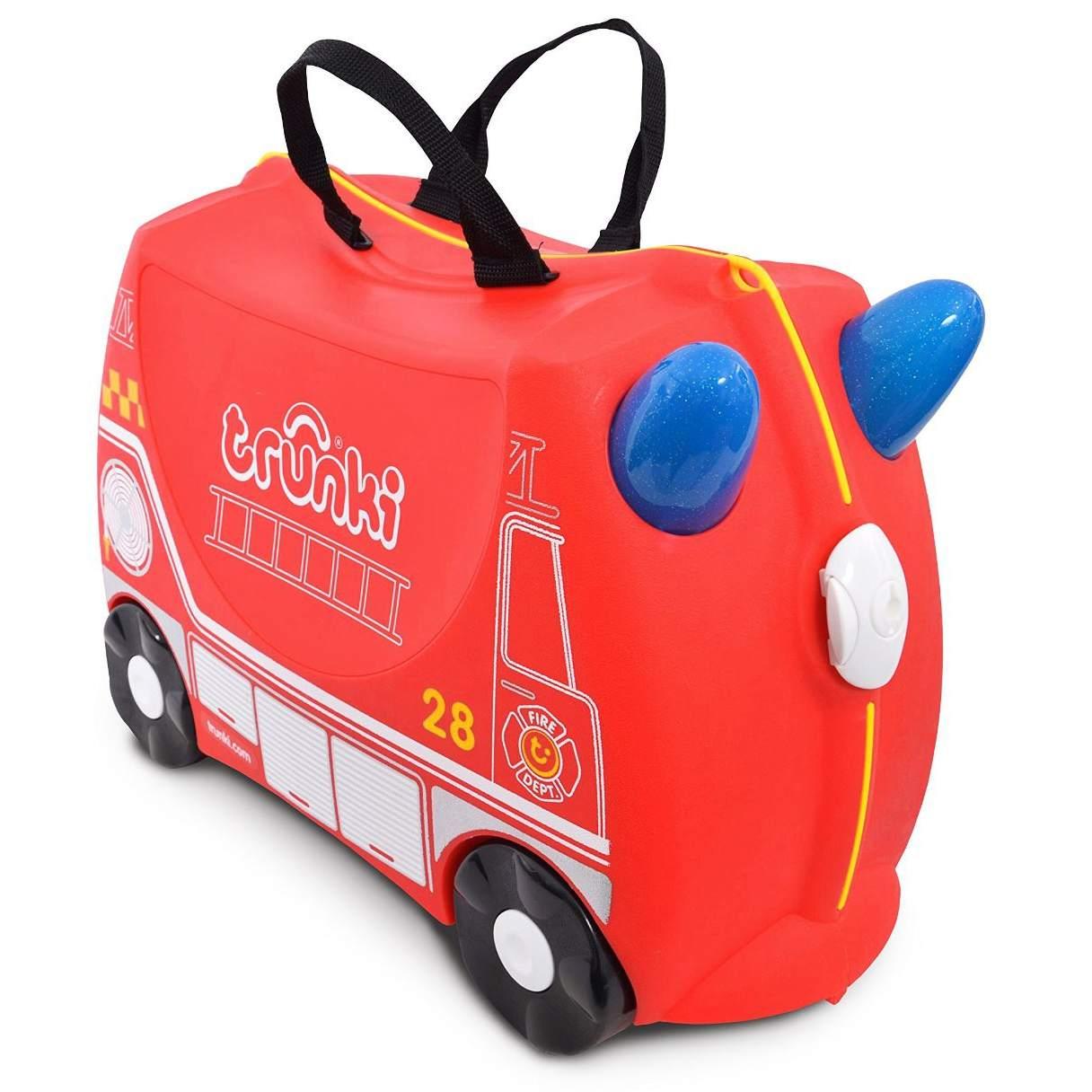 """Детский чемодан на колесиках """"Пожарный Фрэнк"""""""