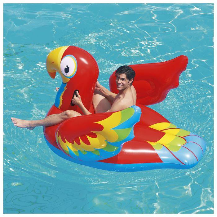 Игрушка надувная для плавания «Попугай», 203 x 132 см, 41127 Bestway
