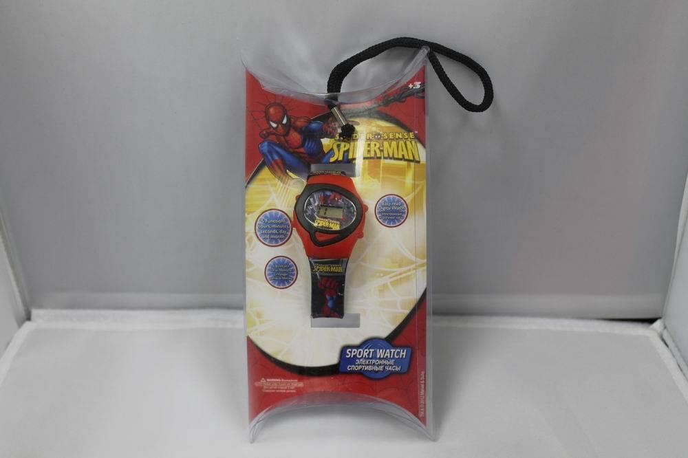"""Спортивные электронные наручные часы """"Человек-Паук"""""""