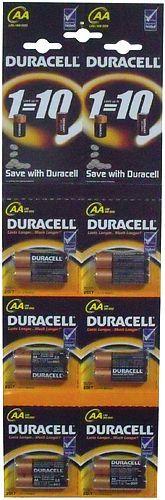 Батарейки алкалиновые Basic AA 1.5V LR6, отрывной набор, 2шт.