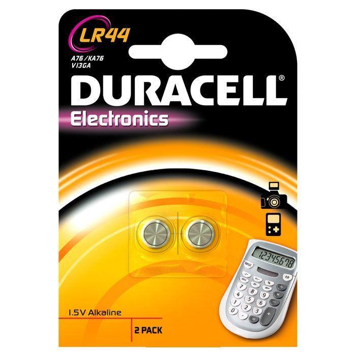 Алкалиновые батарейки для электронных приборов 1,5V LR44, 2 шт.