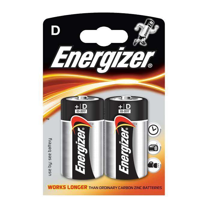 Алкалиновые батарейки Energizer Base D LR20/E95, 2 шт.