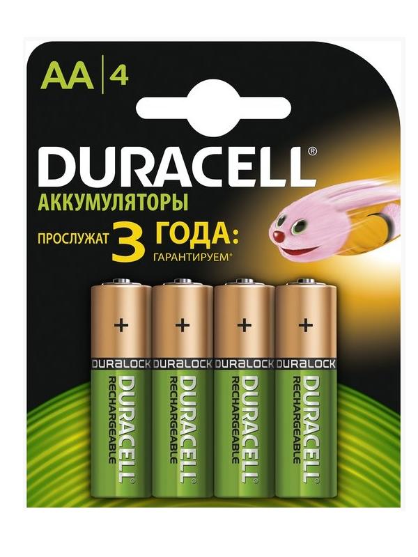 Аккумуляторы никель-металлгидридные AA HR6 1300mAh, 4 шт.