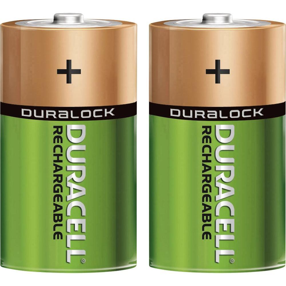 Никель-металлгидридные аккумуляторы Duracell - DH R20, 2 шт.