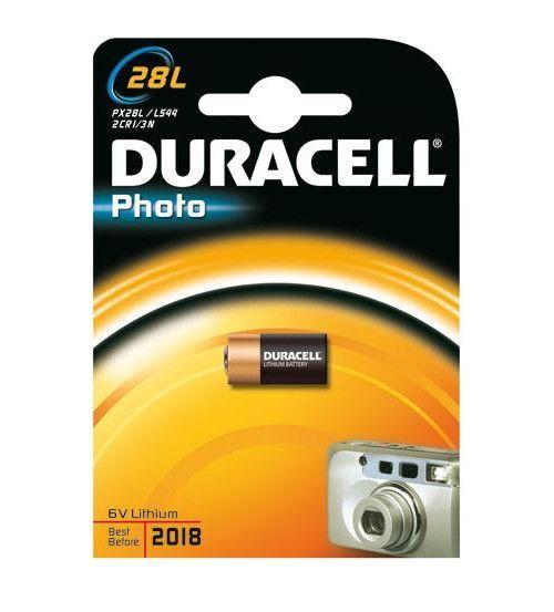 Литиевая батарейка Duracell, 6V 28L, 1 шт