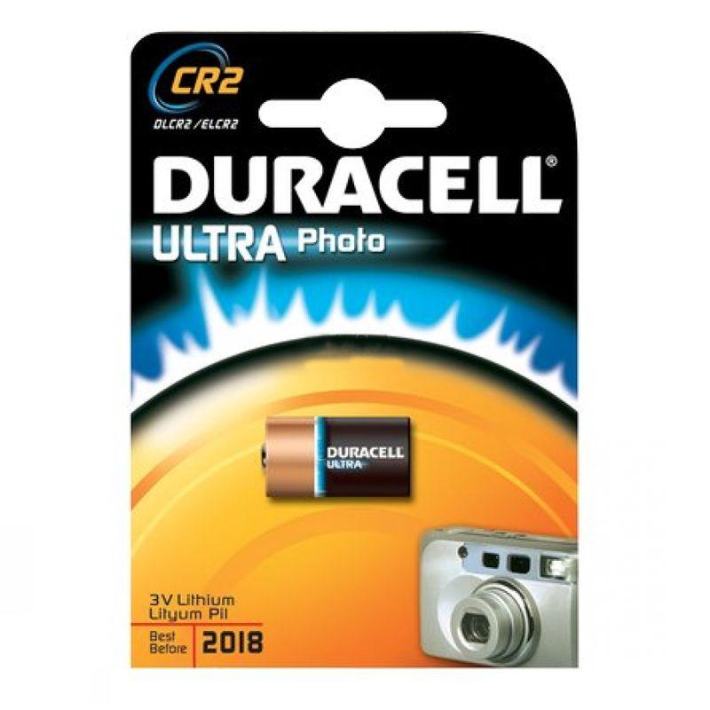 Литиевая батарейка Duracell Ultra 3V CR2, 1 шт.