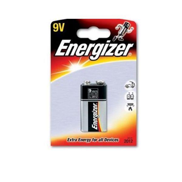 "Алкалиновая батарейка ""Энерджайзер"" - Extra Energy, крона, 9V"