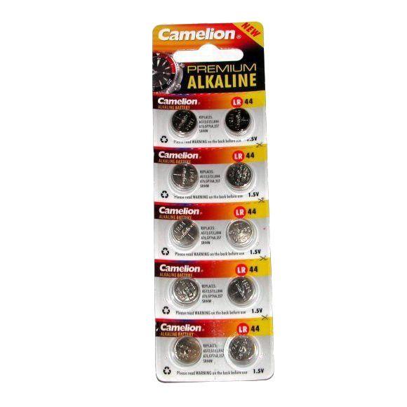 Комплект из 10 батареек Camelion - Premium Alkaline 1.5 V LR44