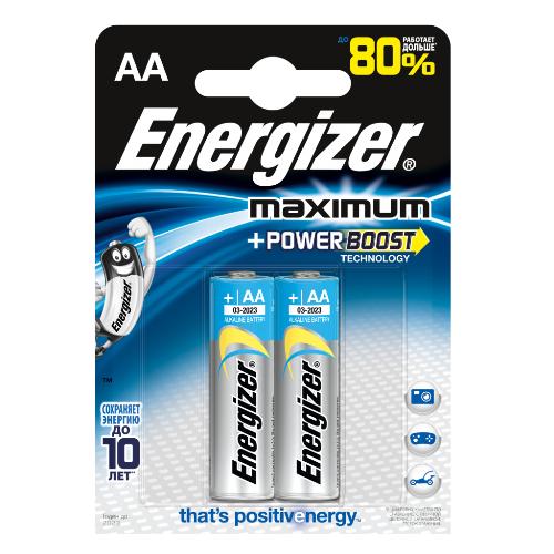 Батарейка Maximum Power Boost АА, 2 шт.