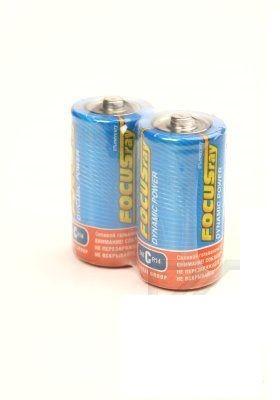 Батарейка FOCUSray Dynamic Power, солевая, (C) , 2 штуки в пленке, цена за 1 штуку