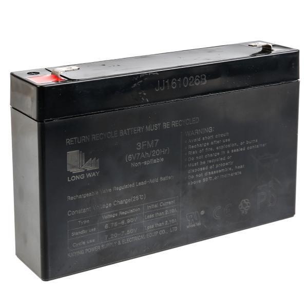 Аккумулятор 6v/7ач к аккум. машинам y043-h08083