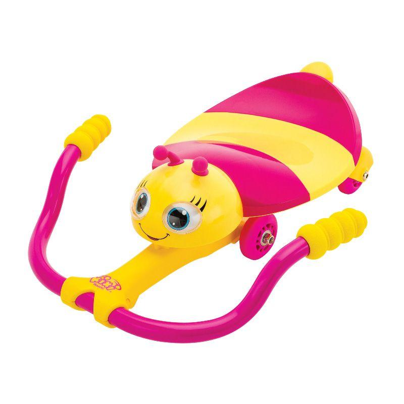 """Детская каталка с механическим управлением Twisti Lil Buzz """"Пчелка"""", розовая"""