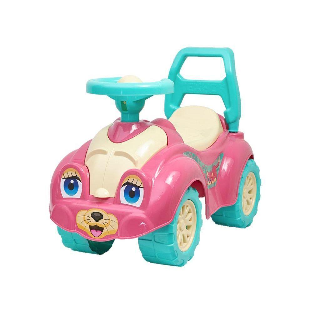 """Машина-каталка """"Автомобиль для прогулок"""", розовый"""