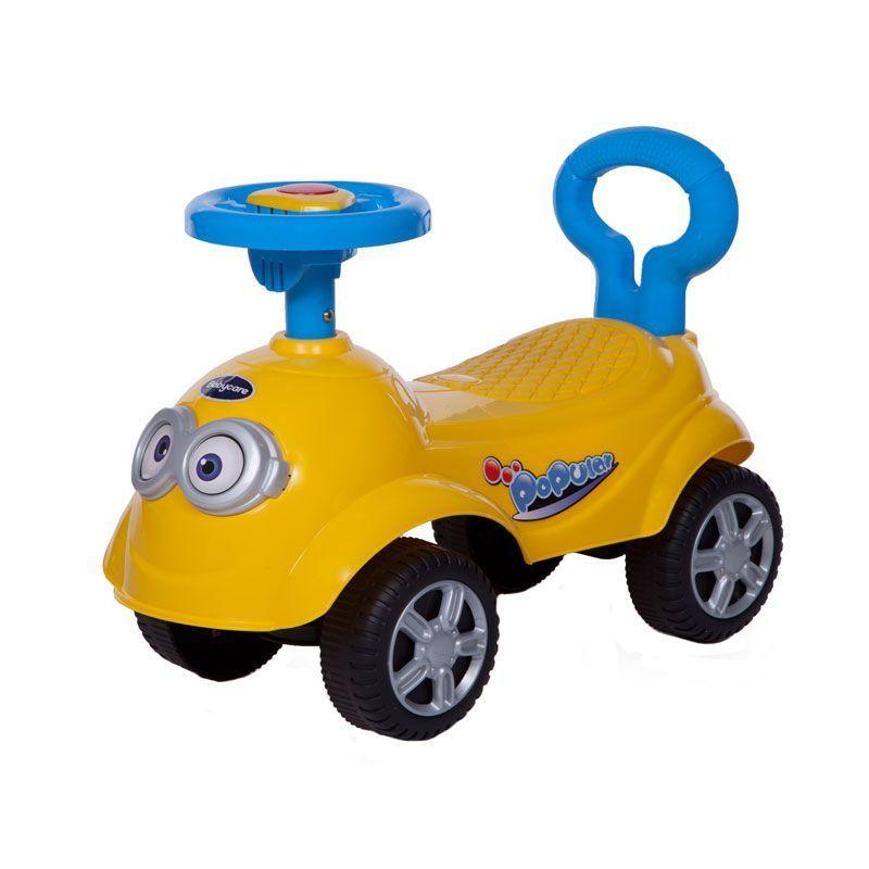 Детская каталка QT Racer, желтая