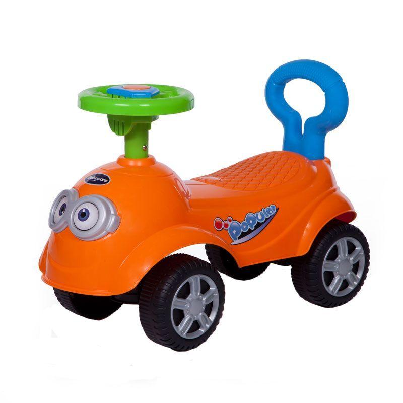 Детская каталка QT Racer, оранжевая