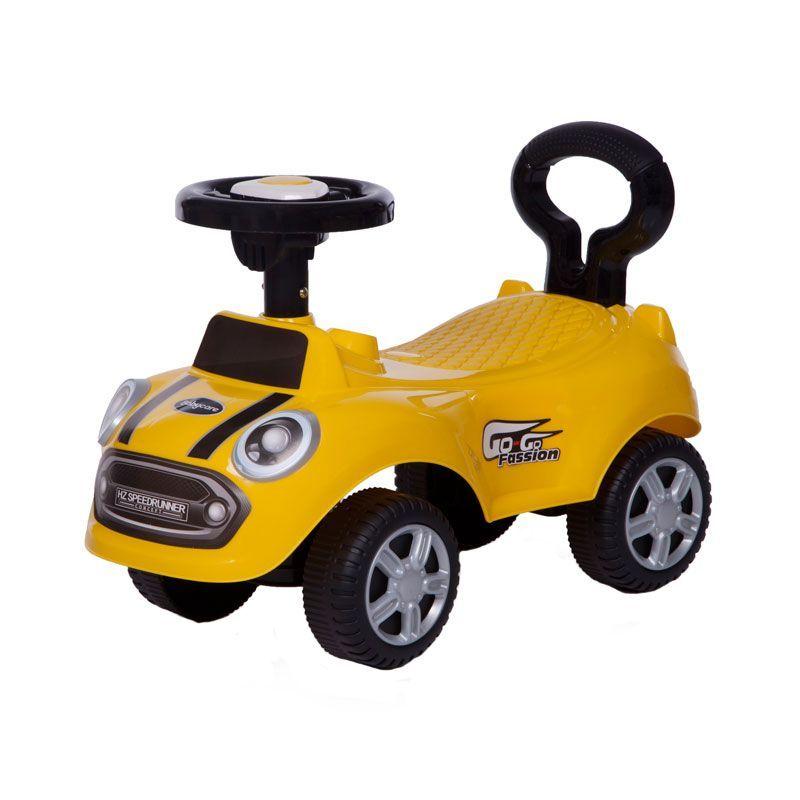 Детская каталка Speedrunner, желтая