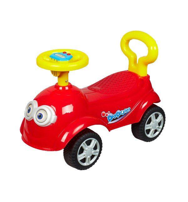 Машина-каталка QT Racer, красная