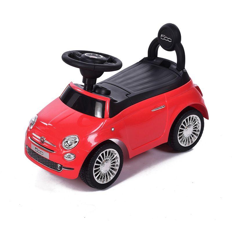 Машина-каталка Fiat 500 (звук), красная