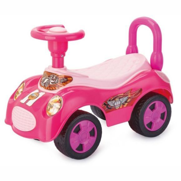 "Машина-каталка ""Вояж"" (звук), розовая"