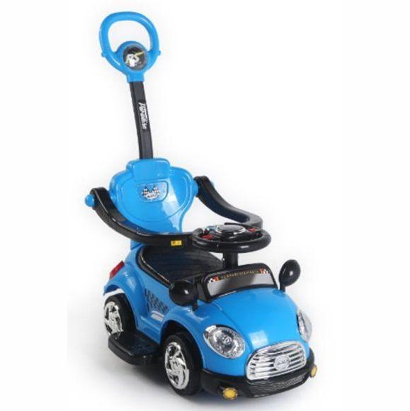 """Машина-каталка """"Лидер"""" (звук), синяя"""