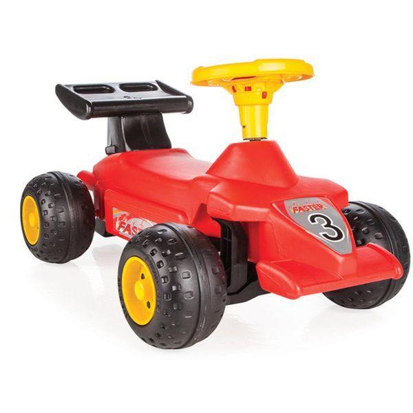 Каталка Super Race с гудком, красная