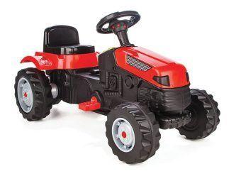 Педальный трактор Active Tractor, красный