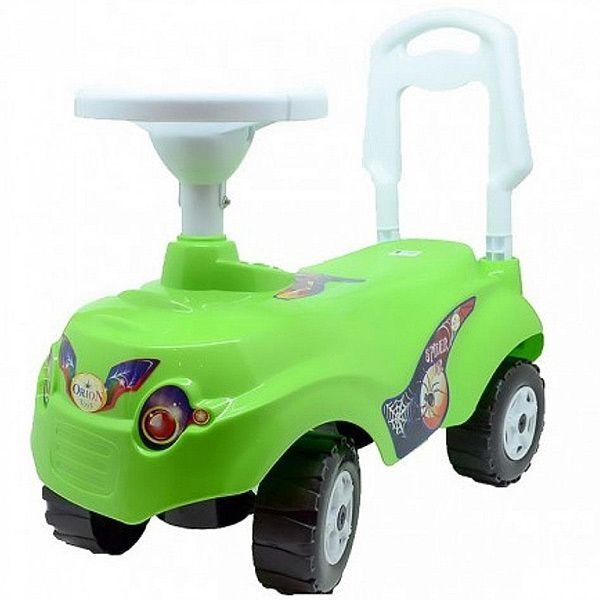 """Машинка-каталка """"Микрокар"""", зеленая"""