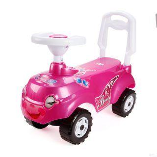 """Машина-каталка """"Микрокар"""", розовая"""