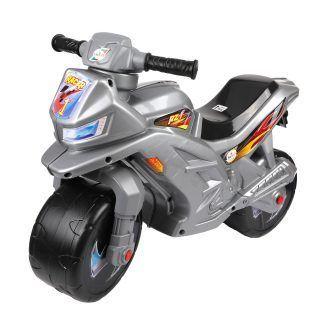 Двухколесный мотоцикл, серый