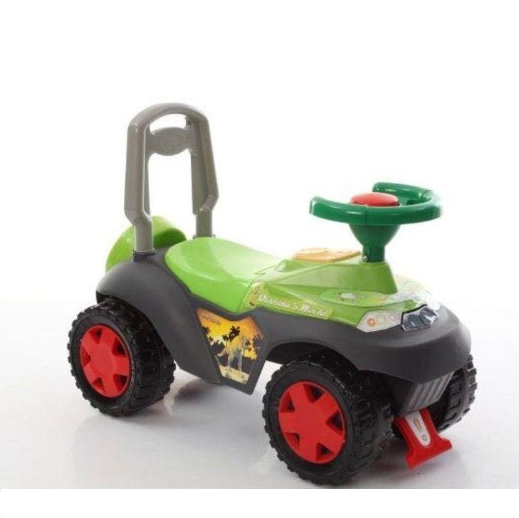 """Машина-каталка """"Сафари"""" (свет, звук), зеленая"""