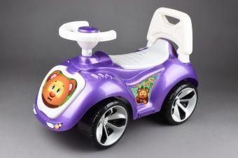 Машинка-каталка, фиолетовая