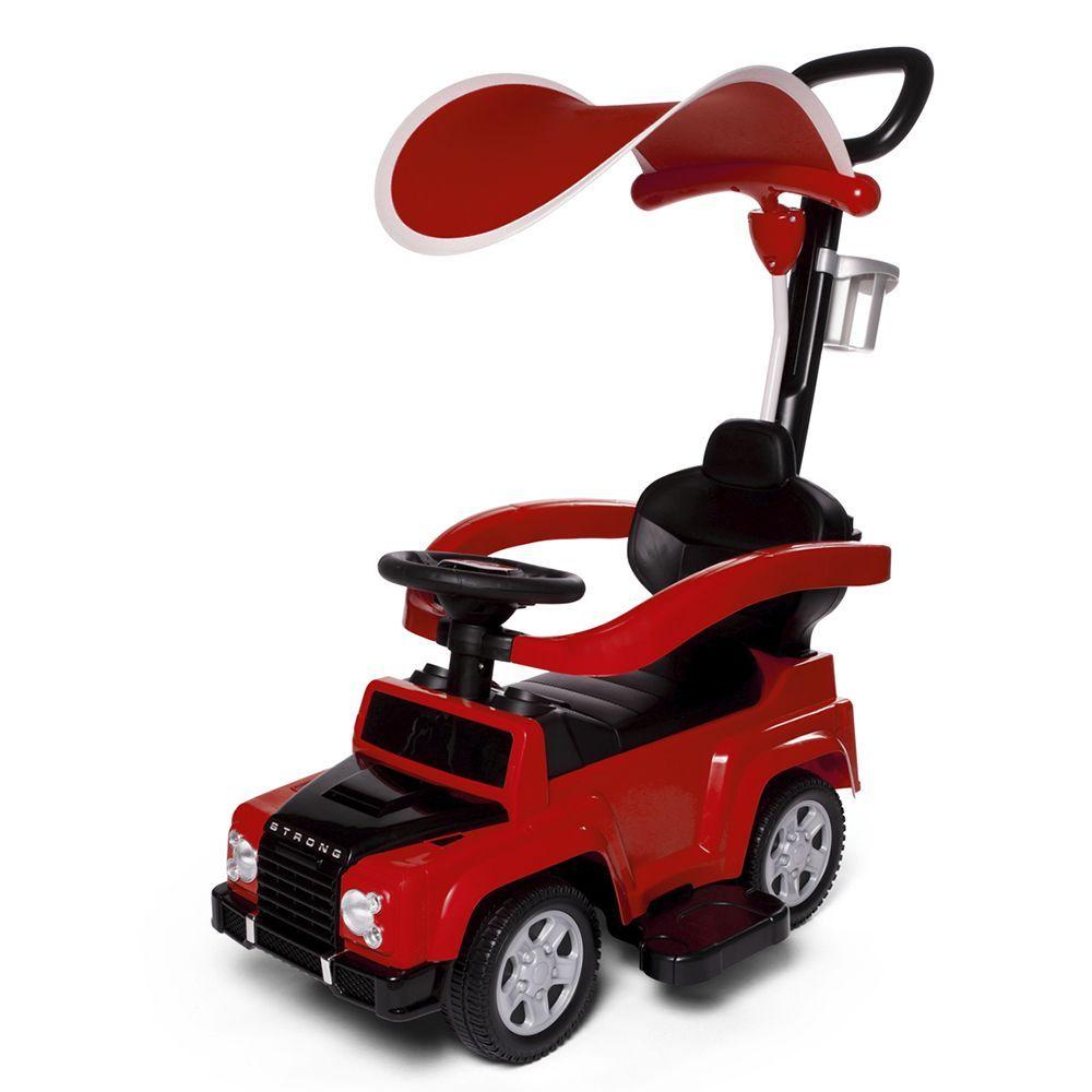 Детская каталка Stroller, красная