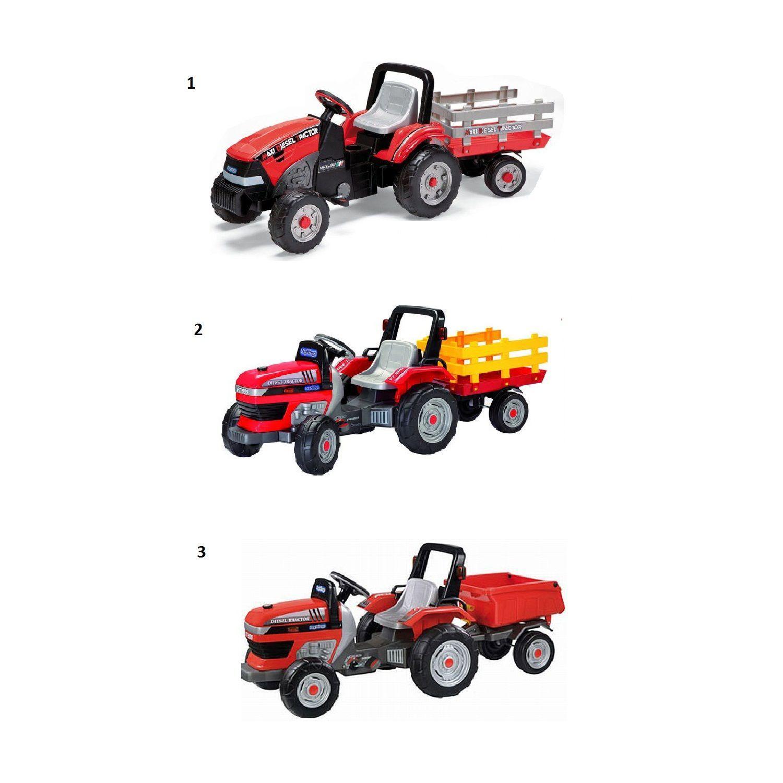 Детский трактор с педалями Peg-Perego Maxi Diesel Tractor