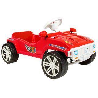 Педальная машина, красная