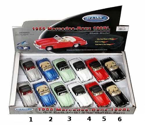"Машинка металлическая ""Mercedes Benz 190 Sl 1955"""